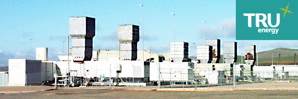 TRU energy Hallet gas fired power station